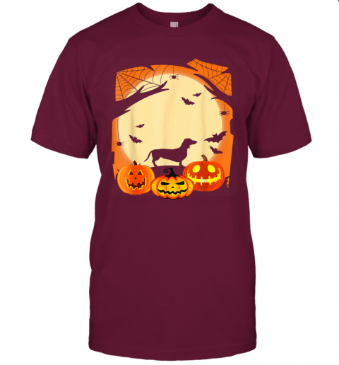 Dachshund Witch Funny Dog Halloween Gift T-Shirt