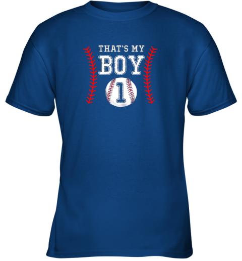ljtq that39 s my boy baseball 1 year old dad mom youth t shirt 26 front royal