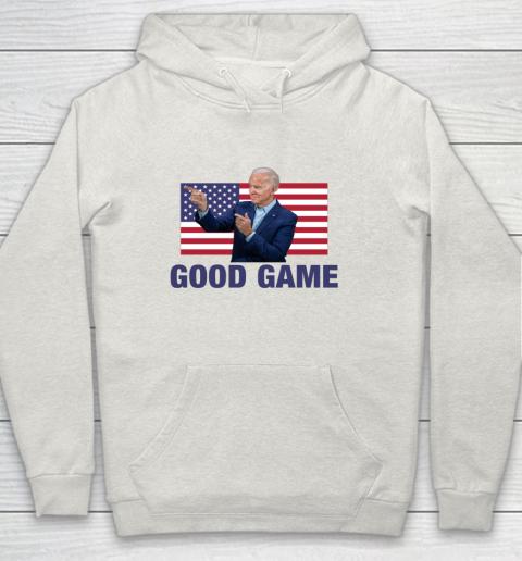 Good Game Joe Biden American Flag Winner Democrat Byedon Hoodie 8