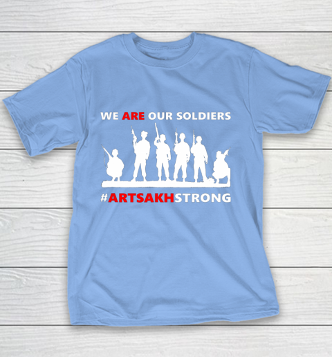 We Are Our Soldiers Youth T-Shirt 8