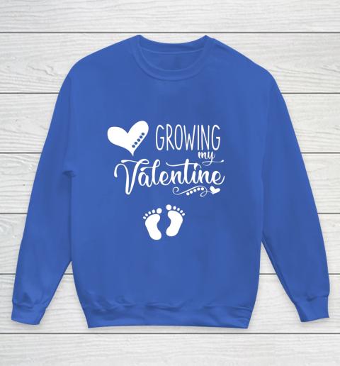Growing my Valentine Tshirt for Wife Youth Sweatshirt 6