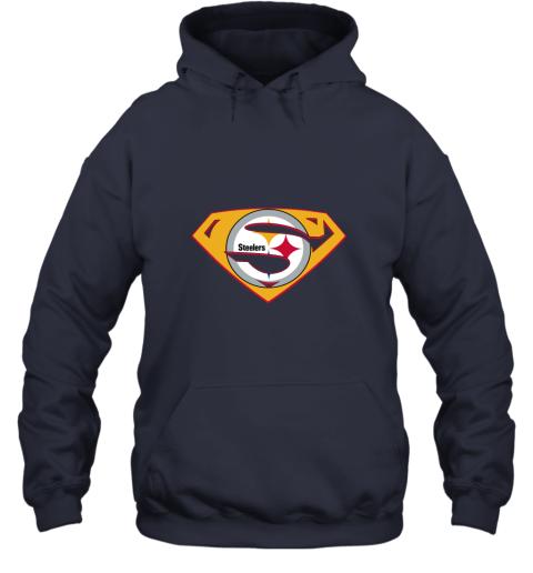 jogm superman steelers hoodie 23 front navy