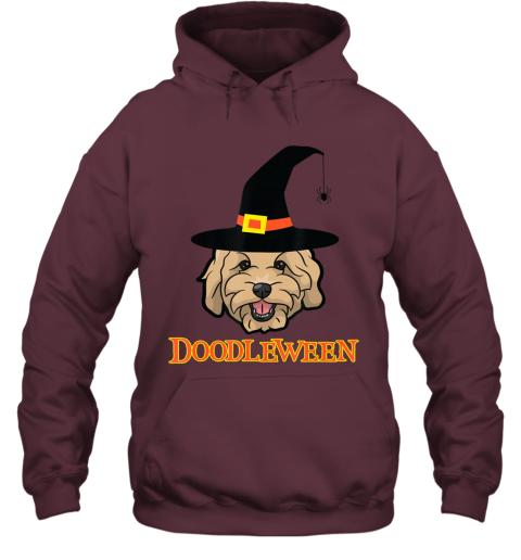 Goldendoodle Halloween - Spooky Golden Doodle Dog Gift Hoodie