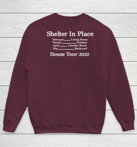 Peter Frampton Covid Stays Inside Youth Sweatshirt 12