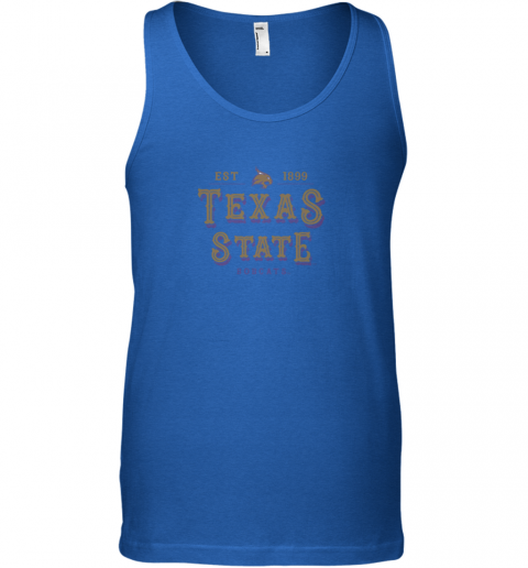 3jlu texas state bobcats womens college ncaa unisex tank 17 front royal