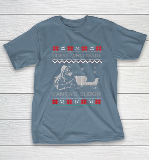 Ugly Christmas Welder Tee Funny Xmas Pajamas Gifts Welders T-Shirt 6