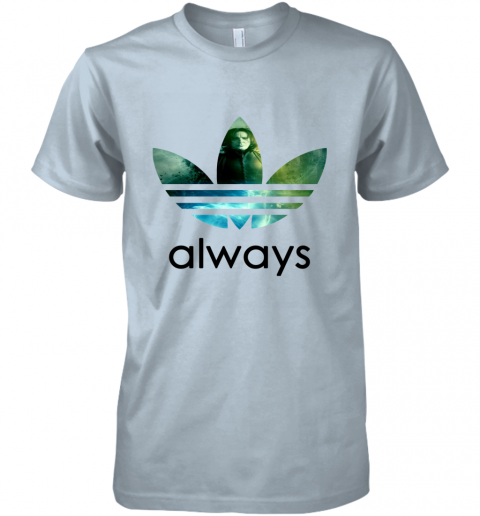 cujs adidas severus snape always harry potter shirts premium guys tee 5 front light blue