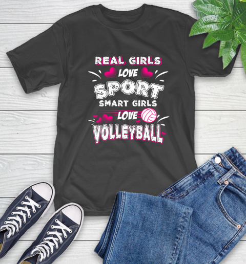 Real Girls Loves Sport Smart Girls Play Volleyball