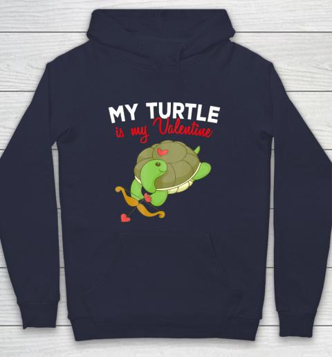Turtle Valentine T Shirt Sea Turtle Cupid Valentines Day Hoodie 2