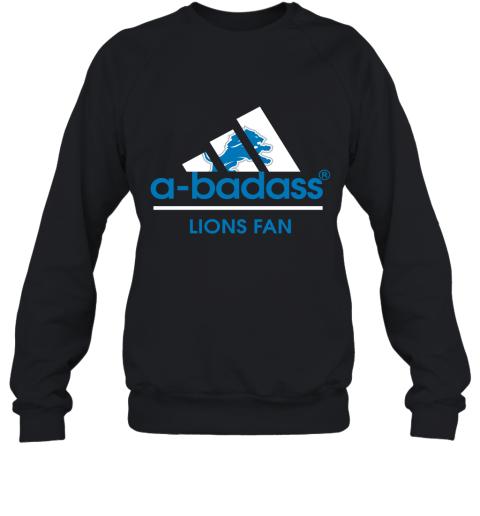 A Badass Detroit Lions Mashup Adidas NFL Sweatshirt