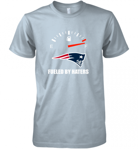 r8ks fueled by haters maximum fuel new england patriots premium guys tee 5 front light blue