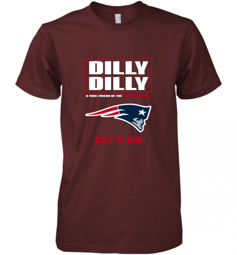 zft3 a true friend of the new england patriots premium guys tee 5 front maroon