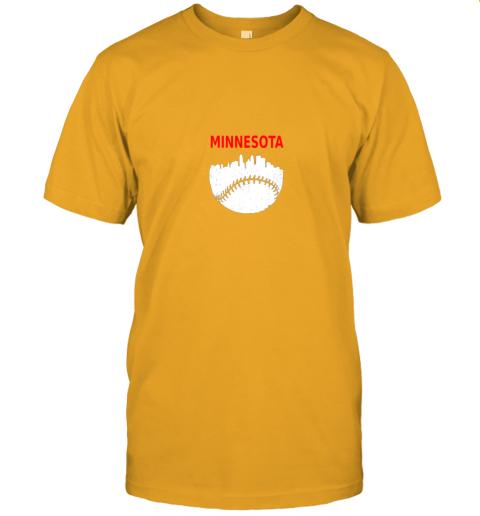 srgr retro minnesota baseball minneapolis cityscape vintage shirt jersey t shirt 60 front gold