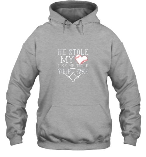 uwmu he stole my heart like he stole your basegirlfriend shirt hoodie 23 front sport grey