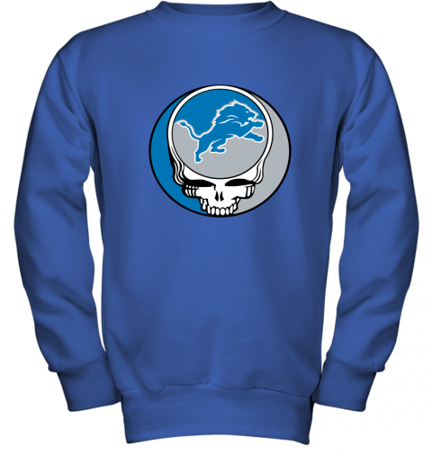 remn nfl team detroit lions x grateful dead youth sweatshirt 47 front royal