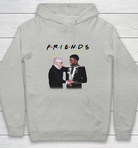 Chadwick Boseman and Stan Lee F.r.i.e.n.d.s Youth Hoodie 1