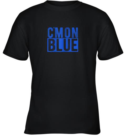 Cmon Blue, Umpire, Baseball Fan Graphic Lover Gift Youth T-Shirt
