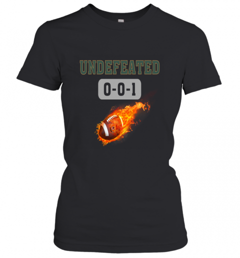 NFL GREEN BAY PACKERS LOGO Undefeated Women's T-Shirt