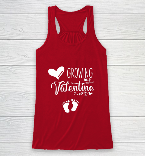 Growing my Valentine Tshirt for Wife Racerback Tank 4