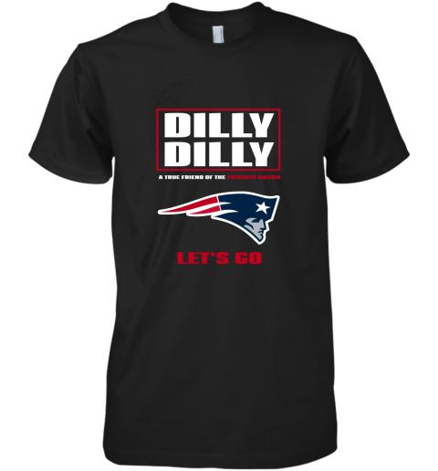 A True Friend Of The New England Patriots Premium Men's T-Shirt