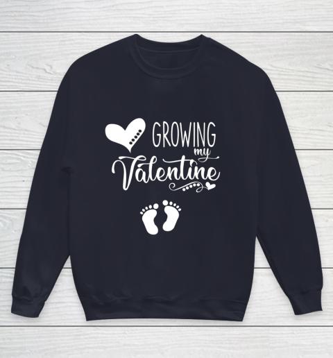 Growing my Valentine Tshirt for Wife Youth Sweatshirt 2