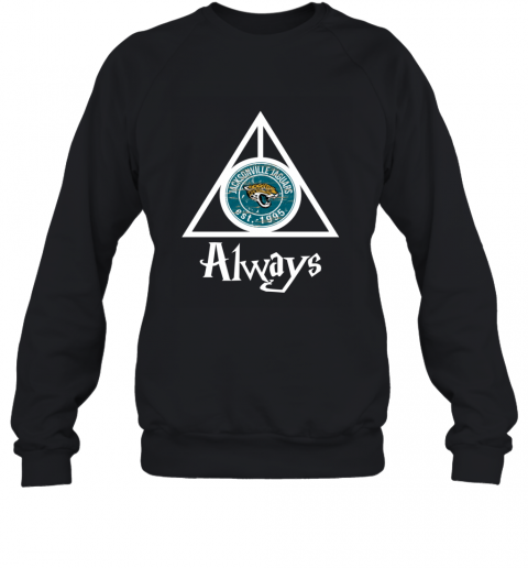 Always Love The Jacksonville Jaguars x Harry Potter Mashup NFL Sweatshirt