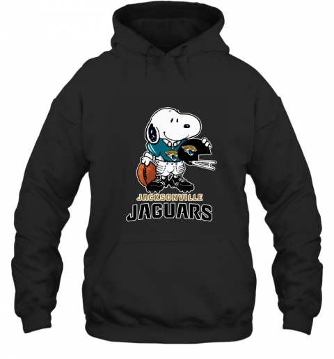 Snoopy A Strong And Proud Jacksonville Jaguars NFL Hoodie