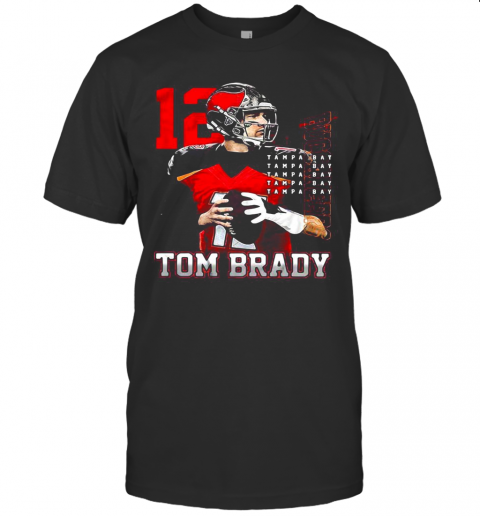 12 Tom Brady Tampa Bay Buccaneers T-Shirt
