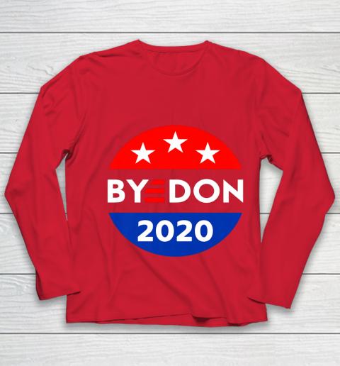 ByeDon 2020 Bye Don Anti Trump Vote Joe Biden Youth Long Sleeve 8