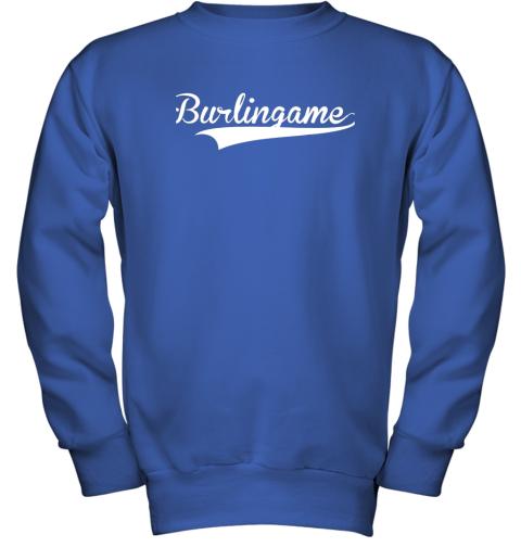kz5u burlingame baseball softball styled youth sweatshirt 47 front royal