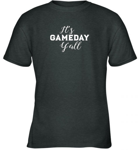 ywng it39 s game day y39 all football baseball basketball youth t shirt 26 front dark heather