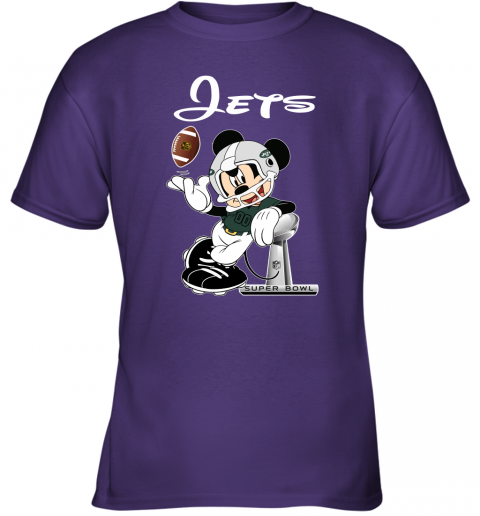 0x70 mickey jets taking the super bowl trophy football youth t shirt 26 front purple