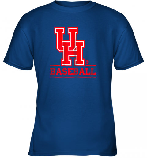 9pbz university of houston cougars baseball shirt youth t shirt 26 front royal