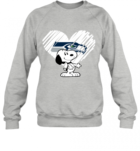 llfv a happy christmas with seattle seahawks snoopy sweatshirt 35 front sport grey