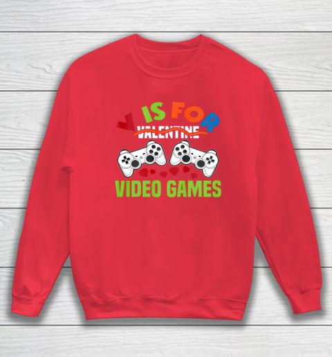 Funny Video Games Lover Valentine Day Sweatshirt 7