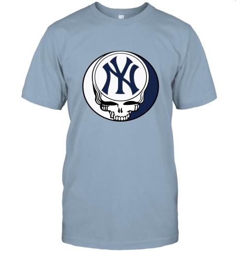 New York Yankees The Grateful Dead Baseball MLB Mashup Unisex Jersey Tee