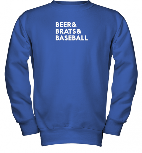 1y7g beer brats baseball summer ampersand list youth sweatshirt 47 front royal