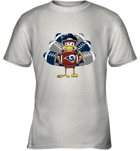 Los Angeles Rams  Thanksgiving Turkey Football NFL Youth T-Shirt