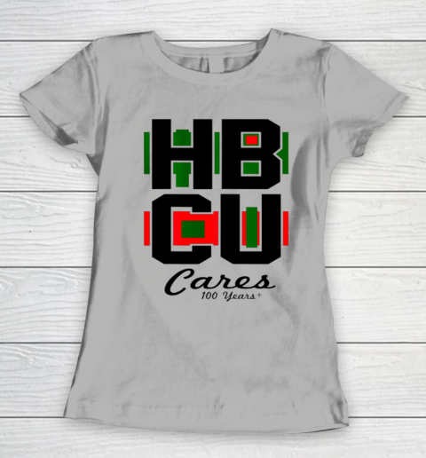HBCU Cares College University Graduation Gift Black School Women's T-Shirt 8