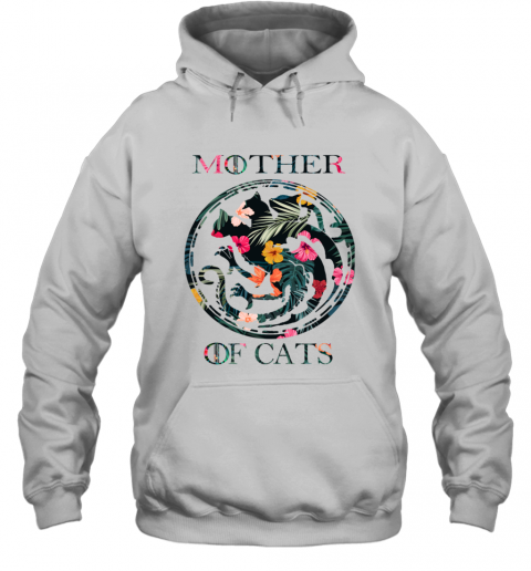 Mother Of Cats Inspired GOT Thrones Funny Cat Mom Gift