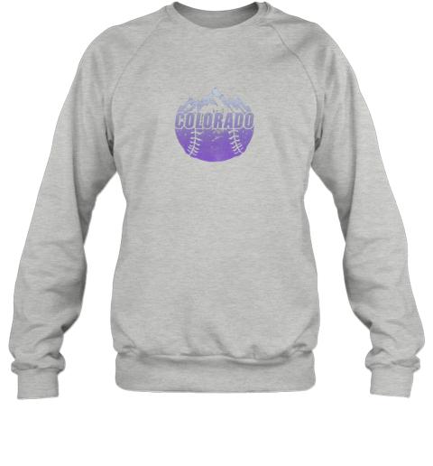 cr0h colorado baseball rocky mountains sweatshirt 35 front sport grey