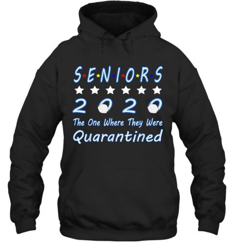 Senior Quarantine Class Of 2020 Graduation Hoodie