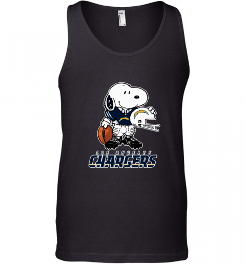 Snoopy A Strong And Proud Los Angeles Chargers NFL Tank Top