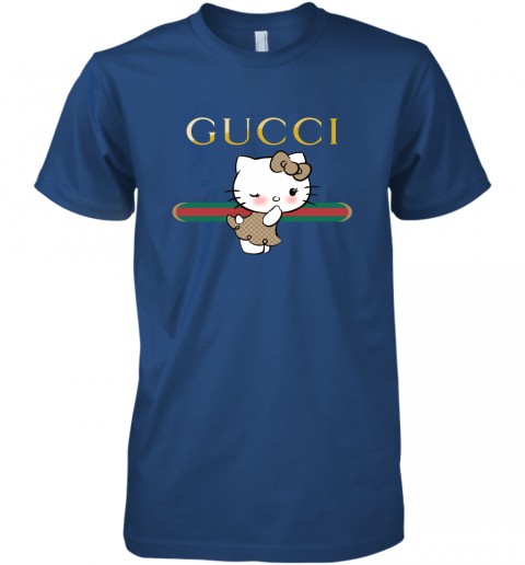 b1w5 gucci hello kitty youth kids pullover premium guys tee 5 front royal