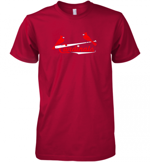 my5k cardinal sports shirtst louis baseball fan premium guys tee 5 front red