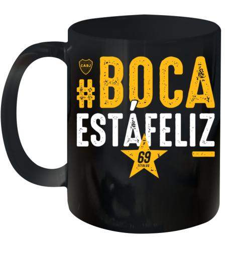 #Boca Estáfeliz 69 Ceramic Mug 11oz