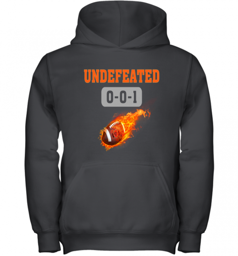 NFL CINCINNATI BENGALS LOGO Undefeated Youth Hoodie