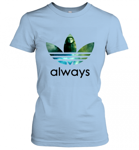x4vk adidas severus snape always harry potter shirts ladies t shirt 20 front light blue