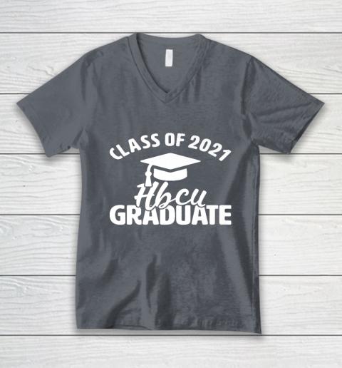 HBCU Alumni Apparel Class Of 2021 HBCU Grad V-Neck T-Shirt 4