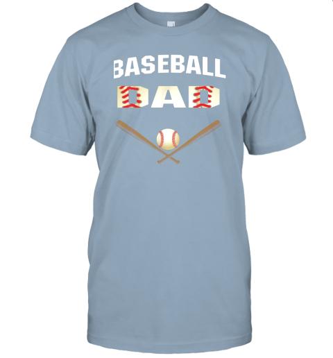 jsmu mens baseball dad shirtbest gift idea for fathers jersey t shirt 60 front light blue